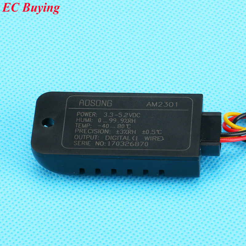 DHT21 100% New Digital-output Relative Humidity & Temperature Sensor Module AM2301