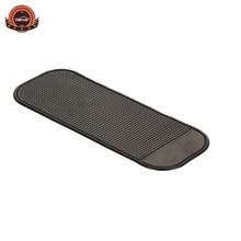Top price Car Styling non-slip Mat Accessories Anti-slip Sticky Mats Black color 28 * 9 cm car non slip mat Silica gel