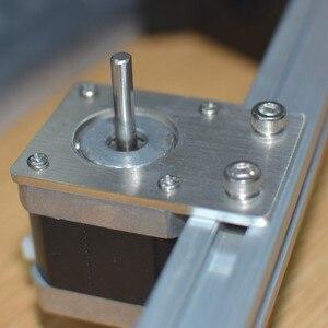 Placa de montaje de Motor paso a paso NEMA 17 soporte de placa fija para Reprap d-bot core-XY impresora 3D piezas CNC 2020 perfiles