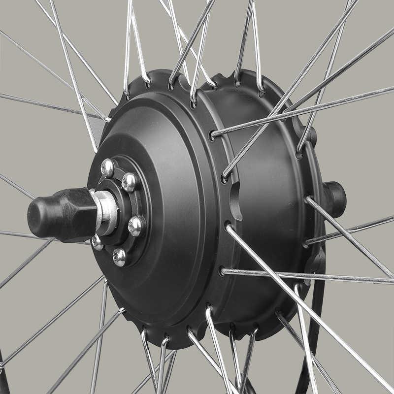 Rower elektryczny skuter zestaw silnika dla rowery elektryczne 24V 250W tylne koło silnikowe 20 cal zestaw dla rower elektryczny z przepustnicy