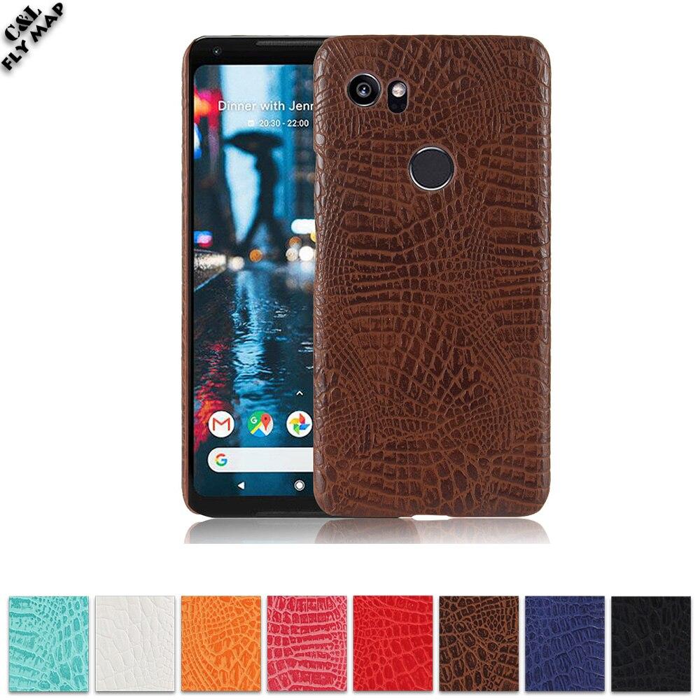 Крокодил чехол для Google Pixel XL 2 Global G011C Жесткий ПК Защитный чехол телефона оболочки мешок Coque для Google Pixel XL телефон 2 2XL