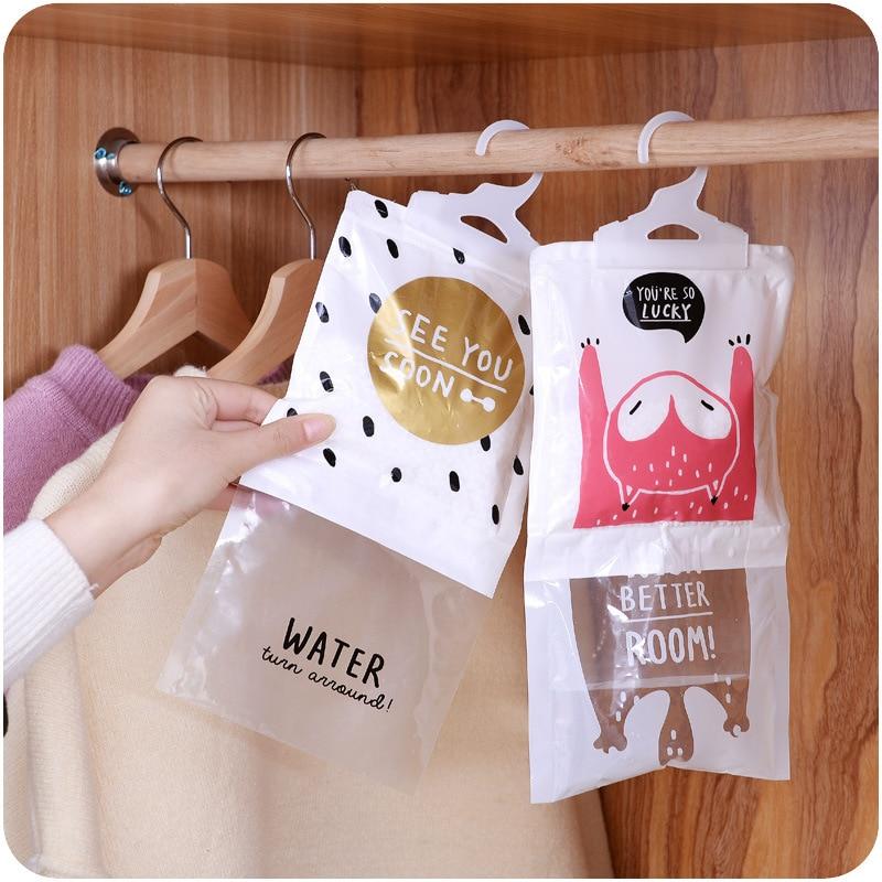 Hanging Wardrobe Hanging Moisture Bag Closet Cabinet Wardrobe Dehumidifier Drying Agent Hygroscopic Anti-Mold Desiccant Bags
