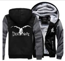 Death Note Shinigami Ryuk Japanese anime cosplay costume Hoodie jacket  thicken winter coat(China) f969a9804
