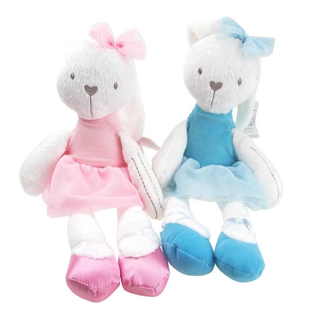 Aliexpresscom Koop Zachte Baby Knuffel Mooie Roze Konijn