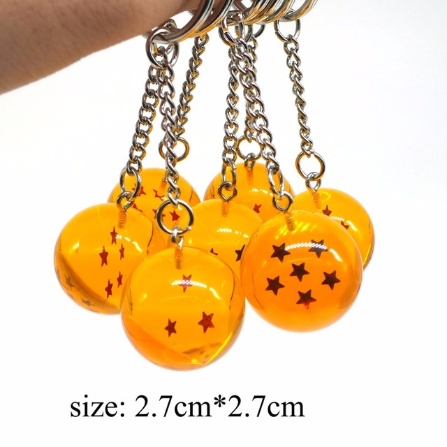 7 PCS Set Dragon Ball Z Keychain