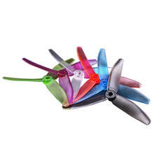 Best Deal 10 Pairs GEPRC 5040 V2 5 Inch 3 blade Propeller For RC Model Toys