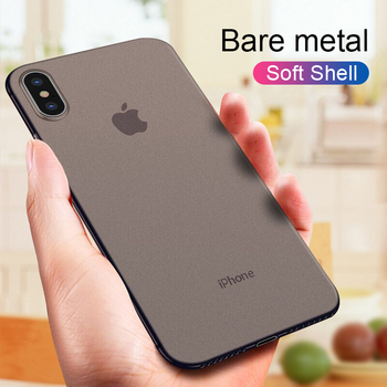 0.3mm Ultra Thin Matte Case For IPhone XR X XS Max Shockproof Phone Case For IPhone x xr xs max PP Protective Case Cover iPhone XR