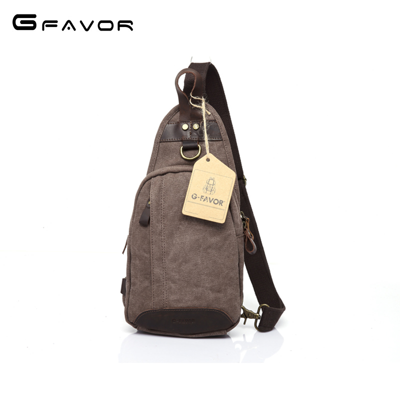 Vintage Canvas Chest Bag Men 2018 New Zippers Crossbody Shoulder Bag Casual Travel Bag Fashion Large Capacity Chest Bag for Men vintage canvas chest bag men new crossbody shoulder bag multifunction casual travel bag fashion large capacity chest bag for men