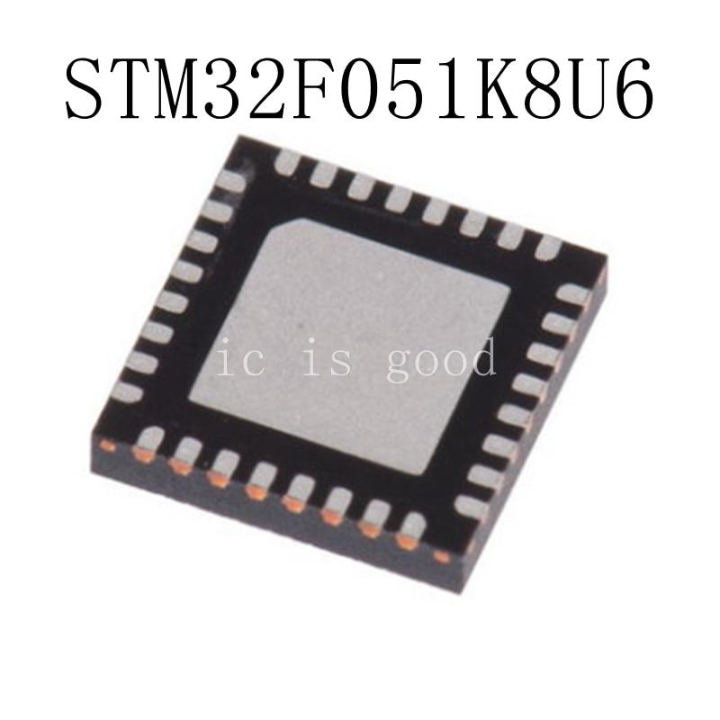 10pcs lot STM32F051K8U6 QFN32 051K8U6 F051K86 original authentic
