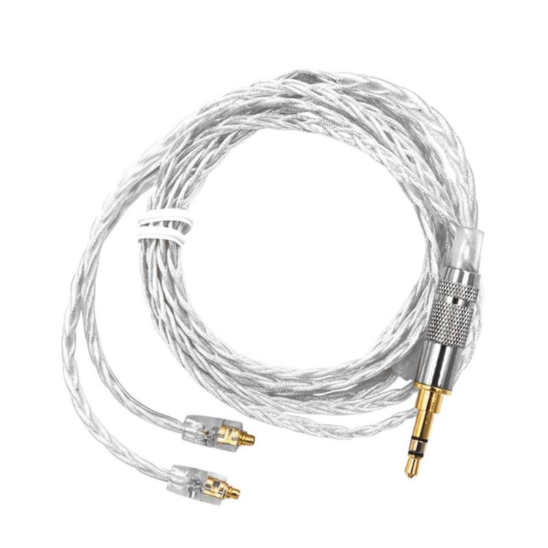 KZ 120cm MMCX Headphone Cable 3.5mm Upgraded Braided Cable