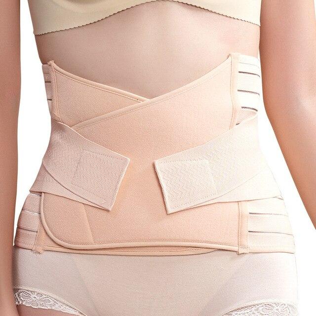 Women's Abdomen drawing belt body shaping cummerbund postpartum girdle thin belt summer breathable waist cinchers slimming belt