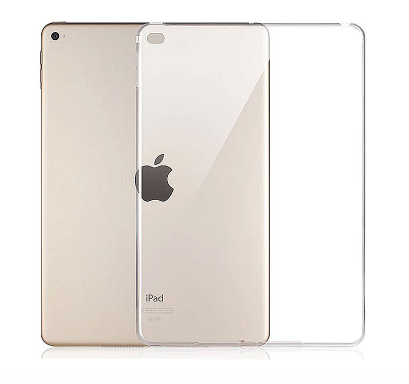 Clear Transparent Silicon TPU Case For iPad Mini 2 3 4 Cover Case For iPad Air 2 Case Slim Tablet Cover For iPad pro 10.5 2018 silicon case for ipad 2 3 4 5 6 air 1 mini 1 2 3 4 clear transparent case soft tpu back cover tablet case for ipad 9 7 2017 2018