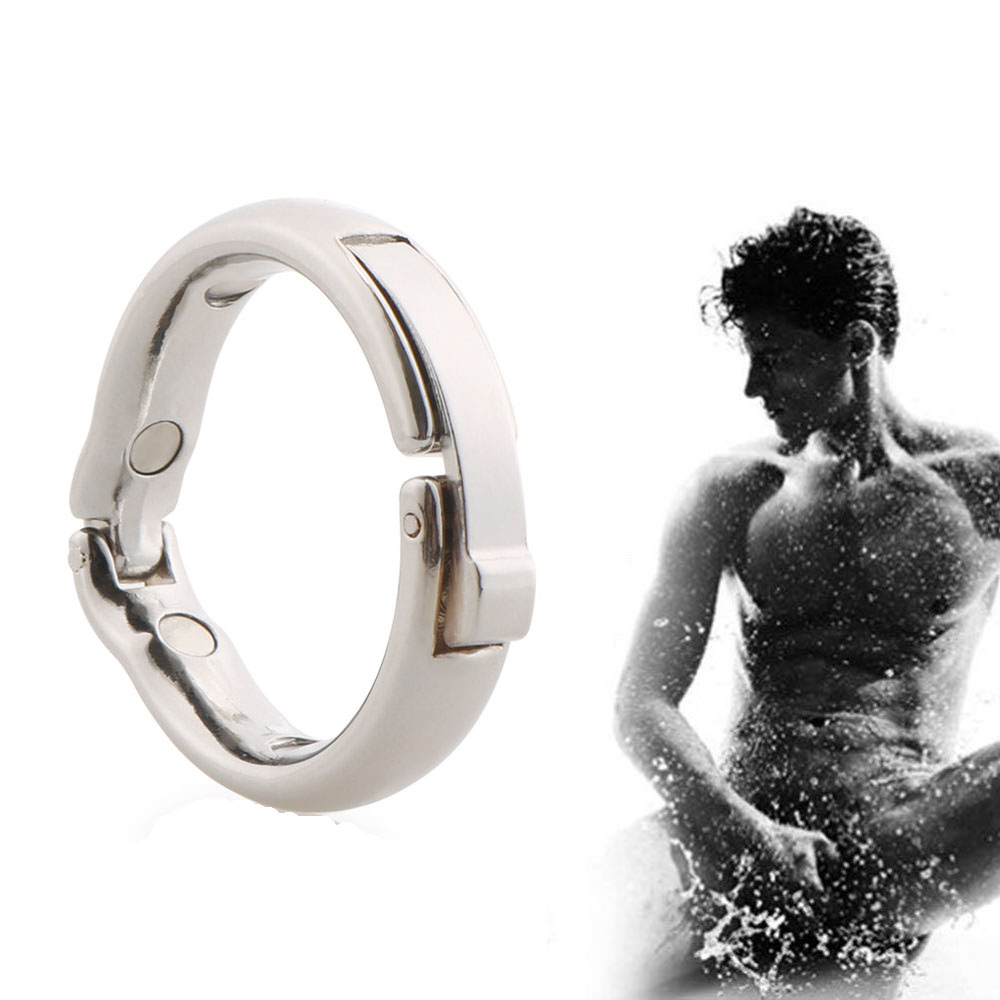 <font><b>Ring</b></font> Penis Enlargerment Metal Stainless Steel Cock <font><b>Rings</b></font> Delay Ejaculation Sex Toys For Men Adult Products <font><b>Circumcision</b></font> <font><b>Ring</b></font> image