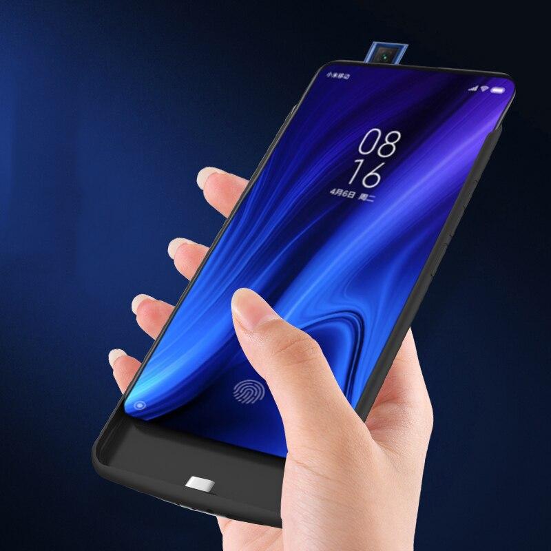 5000 mah caso carregador de bateria para xiaomi redmi k20 pro viagem portátil de carregamento power bank caso do telefone capa forredmi k20 pro capa