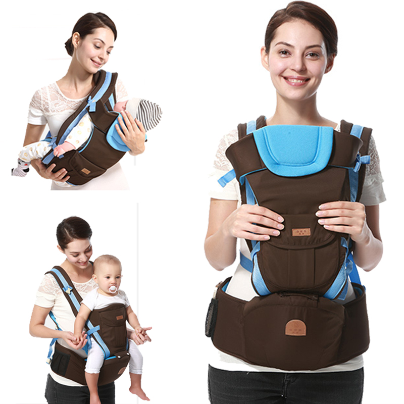 2016 Best Selling Cotton Kangaroo Baby Carrier Hipseat