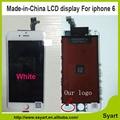 20 PÇS/LOTE preço Barato livre dhl 4.7 polegada LCD made in China e sem dead pixel lcd screen display assembléia digitador para iphone 6