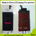 20PCS/LOT Cheap price free dhl 4.7 inch  LCD made in China and no dead pixel LCD Screen Display Digitizer Assembly For iPhone 6