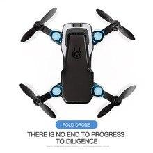 LF606 мини-Дрон Квадрокоптер складной RC дроны без камеры FPV камера HD высота удержания Дрон детские игрушки RC вертолет