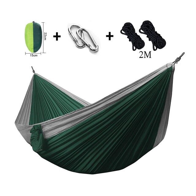 assorted color double hammock lightweight nylon portable hammocks 270 140cm camping swing hanging sleeping assorted color double hammock lightweight nylon portable hammocks      rh   aliexpress