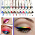 NEW 12Color Shadow Lip liner Cosmetic Pen 2016 Eye Pencil Eyeliner Glitter Makeup