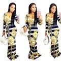 2017 Новый Реальный Африканский Базен Riche Платья Африканские Традиционные Платья Горячей Продажи Платья Полиэстер Продажи Сексуальная Женская Одежда