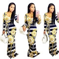 2017 New Real African Bazin Riche Dresses African Traditional Dresses Hot Sale Dress Polyester Selling Sexy Women Clothes