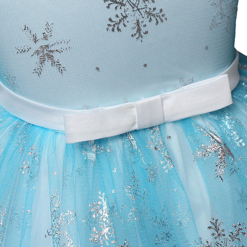 3 10 Years Fancy Princess Dresses For Wedding Halloween Party Costume Kids  Party Birthday Dress Girls Holiday Snowflake Clothes-in Dresses from Mother  ... 6e694b8e10e9