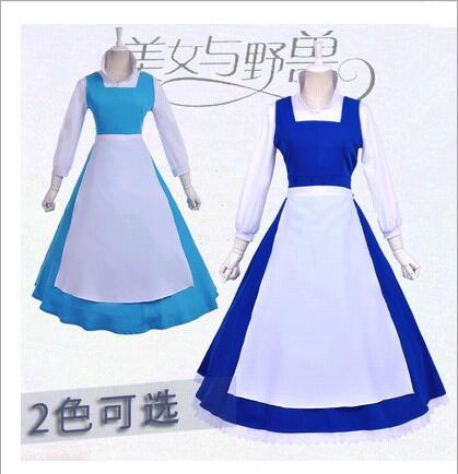 belle blue dress costume beauty and the beast adult princess adults kids kid southern dresses sale