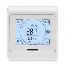 Weekly Programming Thermoregulator Touch Screen Heating Thermostat for Warm Floor Electric Heating System Temperature Controller недорого