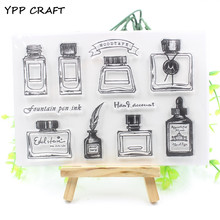 YPP CRAFT Ink Transparent Clear Silicone Stamp/Seal for DIY scrapbooking/photo album Decorative clear stamp sheets(China)