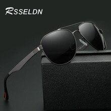 RSSELDN Fashionable Man Polarized Sun glasses Brand Design Magnesium Aluminum Frame Glasses Outdoor Men Sunglasses for Driving