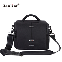 Jealiot SLR Shoulder Camera Bag digital Camera video foto photo lens Bag Professional waterproof Case for DSLR Canon 700D 6D 5D