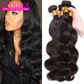Annabelle Hair Indian Body Wave Human Hair 8A Grade Virgin Unprocessed Human Hair Raw Indian Hair 4 Bundle Deals 24 inch Sale
