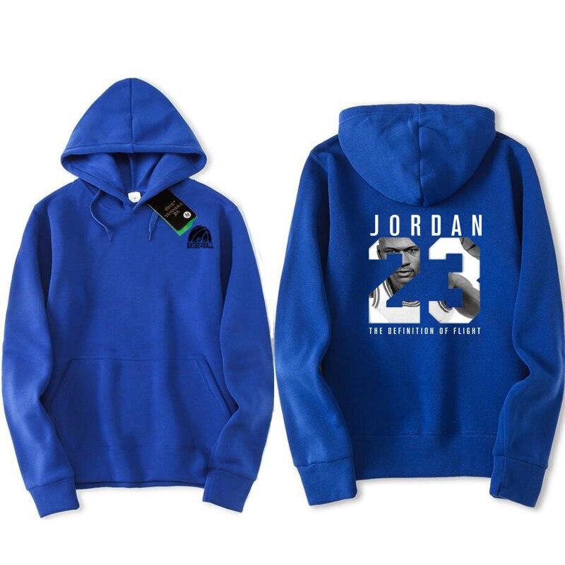 7de29d591b5 2018 new women/men's casual players Jordan 23 Front and back printing print  hedging hooded fleece sweatshirt hoodies pullover