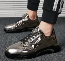 Ins 2019 spring new Korean version the trend cool shoes men sports leisure running ulzzang PU old man sneakers