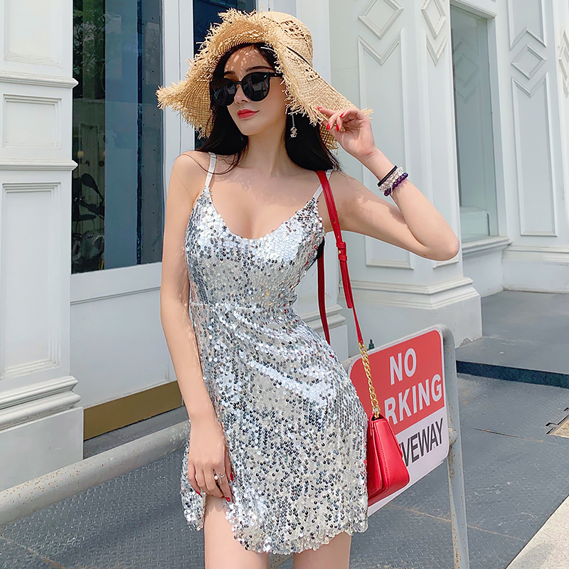 2019 summer women dress backless ladies club wear bodycon party romper bodysuit lace patchwork floral print white sling vestido