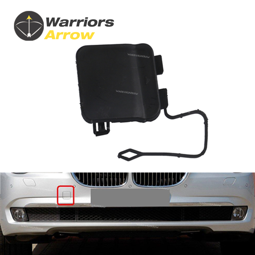 AUTOPA 51117210880 Front Bumper Primed Tow Hook Cover Cap for BMW 7 Series F01 F02