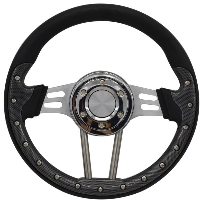 2019 Racing modified steering wheel / carbon fiber universal steering wheel