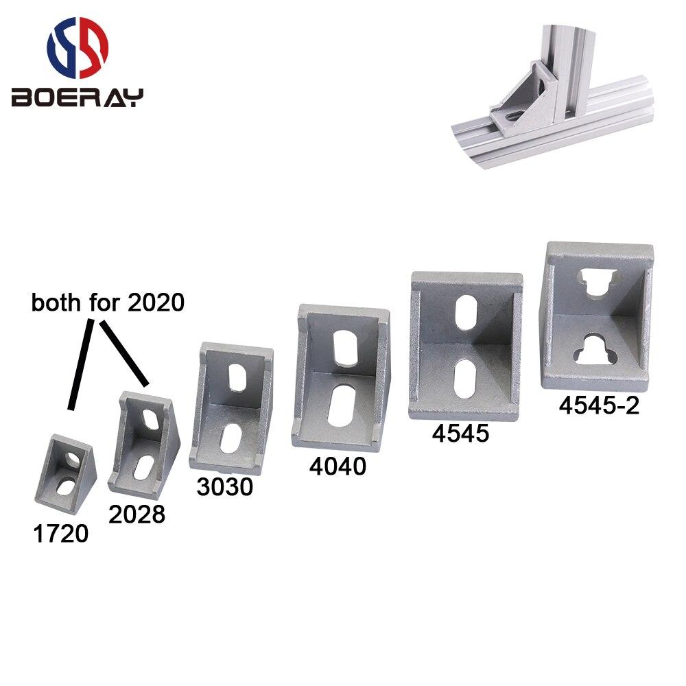 Profil 20x20 serial 5 1pcs Aluminum Profile T Slot 3D 20 5 Cube Connector