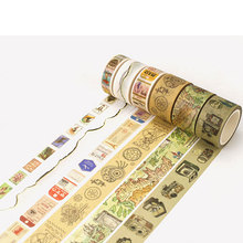 Vintage decoration series washi tape DIY Decorative scrapbooking stickers album Scrapbook masking tape adhesive tapes цена и фото