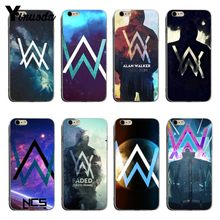 Yinuoda Vintage Cool Alan Walker DJ Faded Transparant Cover case Voor iPhone X XS XR XSMax 5 s SE 8 8 plus 7 7 plus 6 s 6 sPlus coque(China)