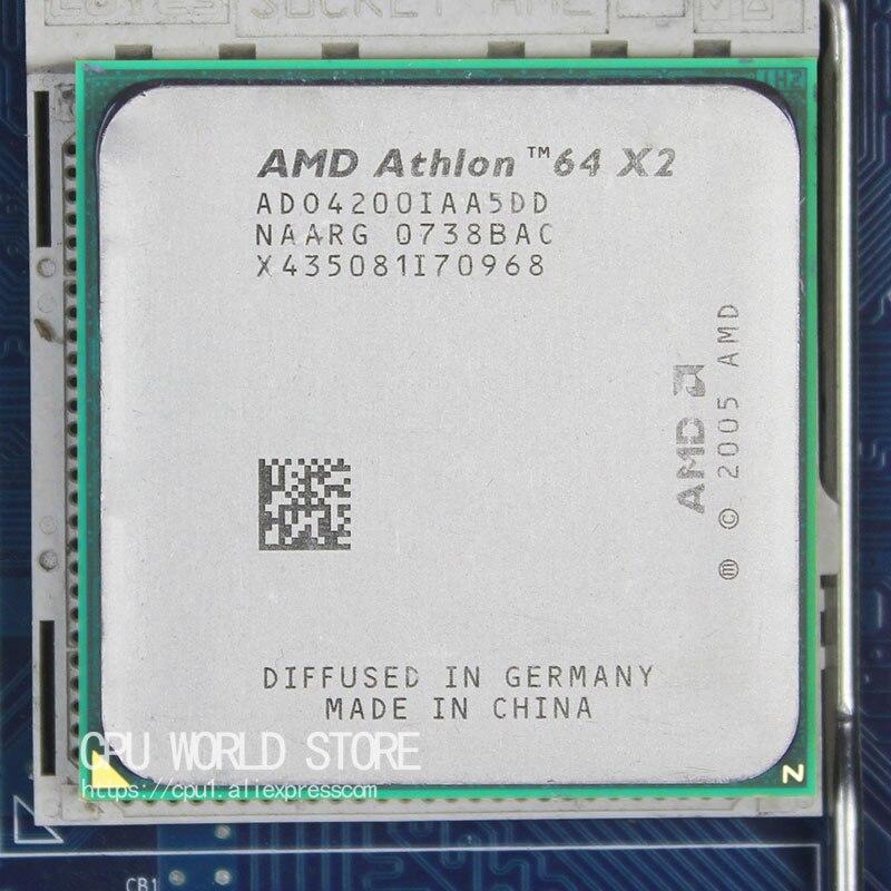 AMD Athlon 64X2 4200 + CPU Processeur 2.2 Ghz/1 M/1000 GHz Socket am2 940 broches de travail