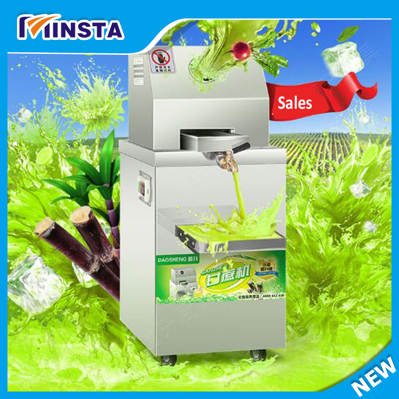 New Arrival ! Vertical double electric source Sugarcane Juicer/ginger juicer/extractor, High capacity,300kg/h
