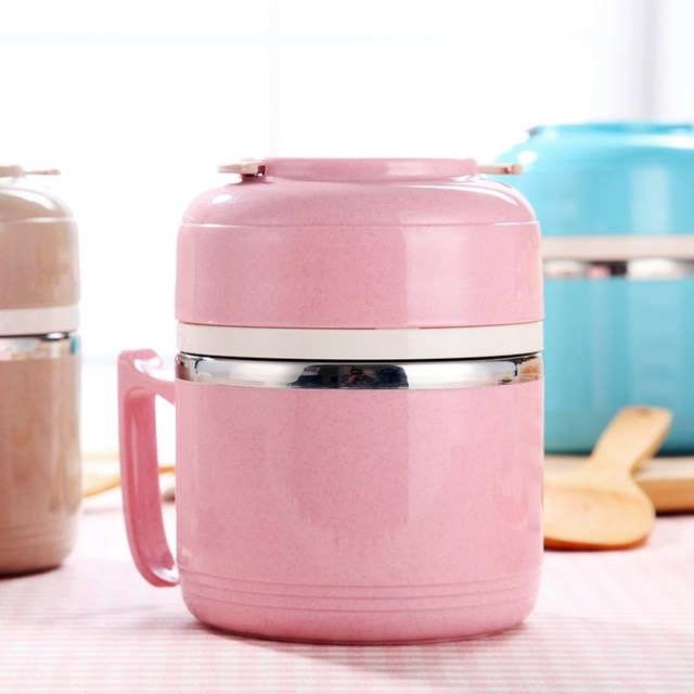 Hot Sale Portable Insulation Lunchbox Stainless Steel Thermal Bento