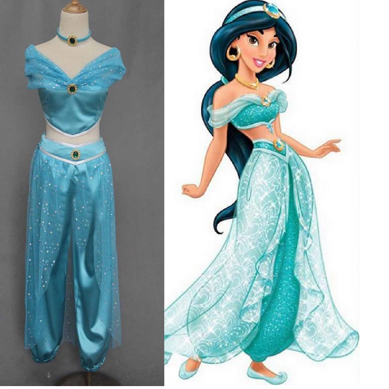 Compare Prices on Princess Jasmine Halloween Costume- Online ...