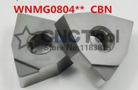 Free shipping 2PCS WNMG080402/WNMG080404/WNMG080408 CBN Diamond inserts  Carbide Milling Inserts Turning inserts For MWLNR