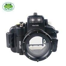 Водонепроницаемый чехол seafrogs для камеры nikon d7100 18 55