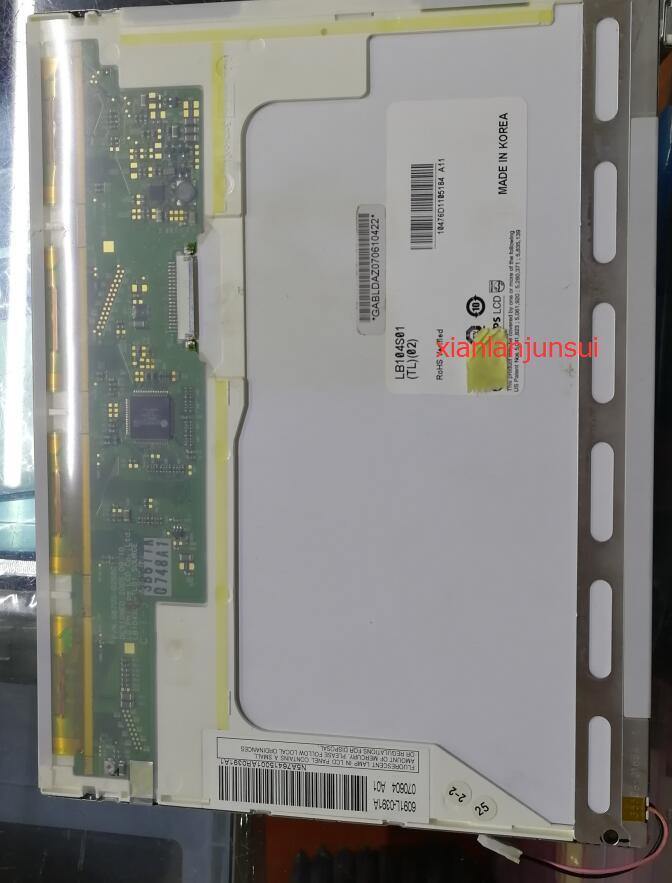 10 4 inch LB104S01 TL01 LB104S01 TL02 The LCD panel