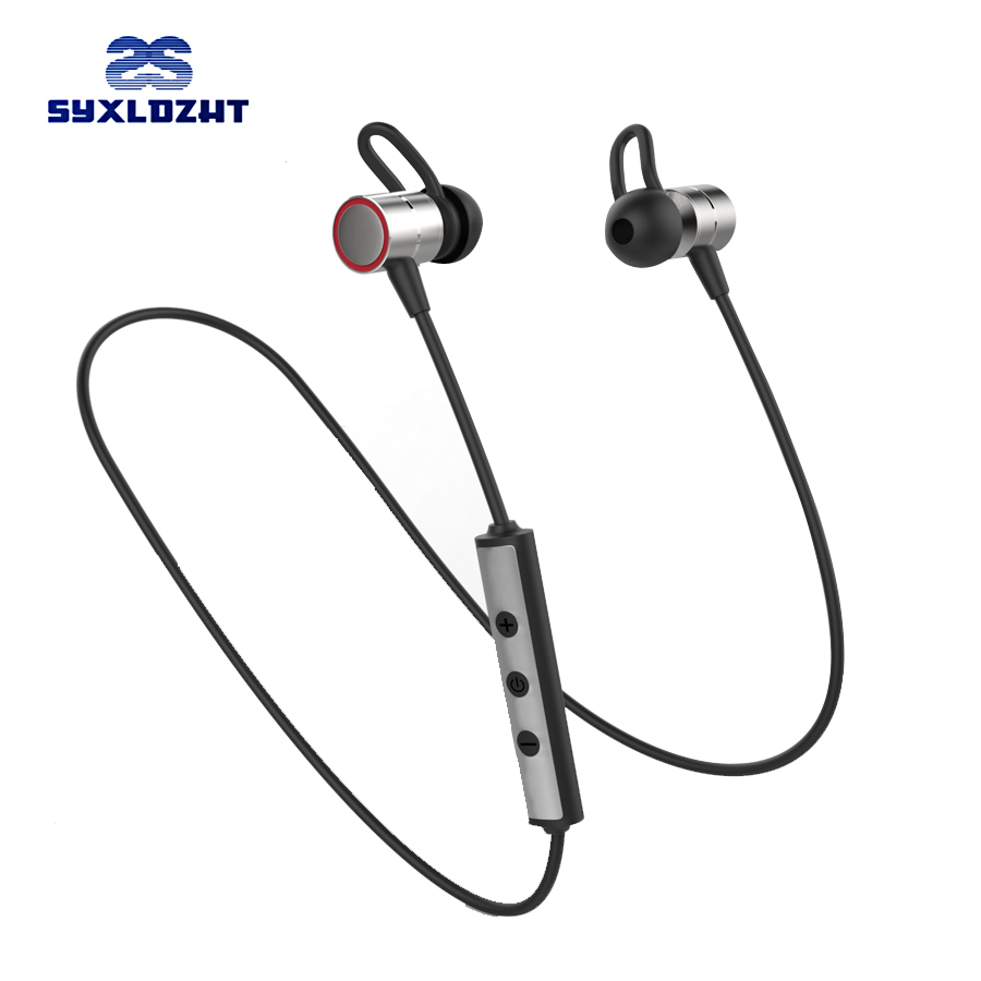 120mA Sport Wireless Bluetooth Earphones With Mic Stereo Magnetic Bluetooth Earbuds in ear Headset For iphone xiaomi Phone