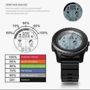 Image 5 - 1 שנה אחריות Makibes G07 GPS גברים שעוני יד Bluetooth חכם שעון IP68 עמיד למים שנורקל בתוך 5 מטרים חיצוני תצוגה